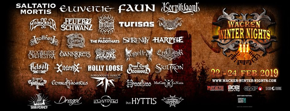 Wacken Winter Nights 2019 Lineup